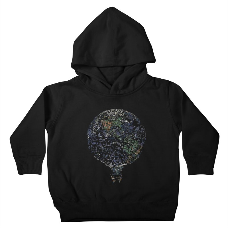 Leave This World Kids Toddler Pullover Hoody by Thomas Orrow