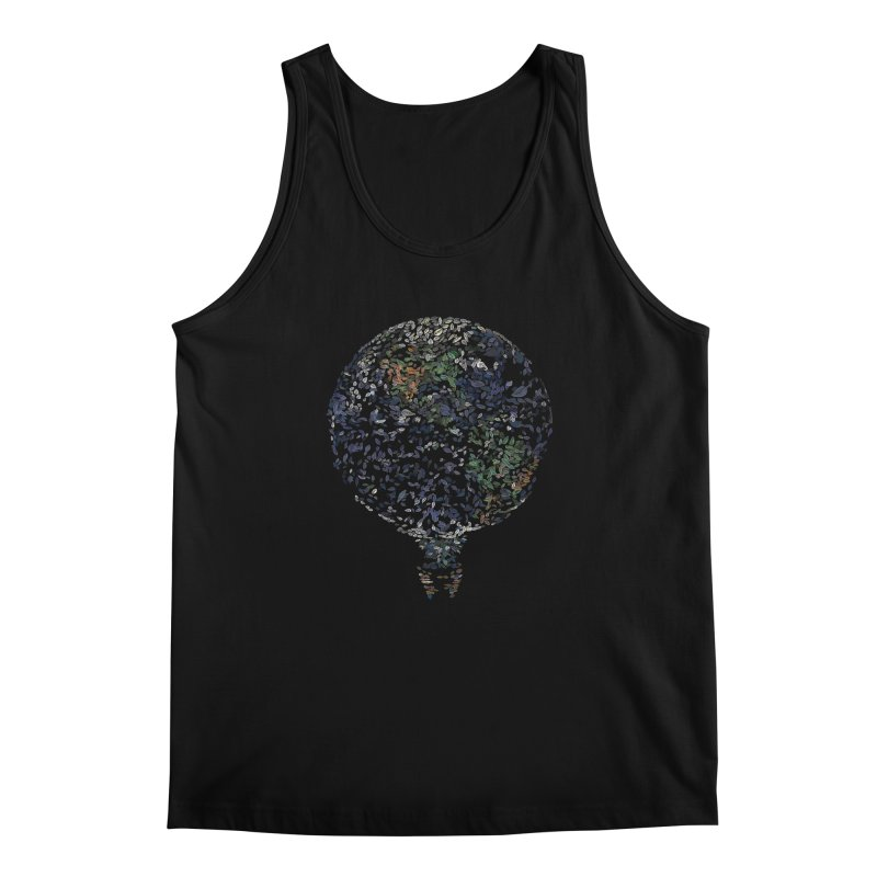 Leave This World Men's Regular Tank by Thomas Orrow