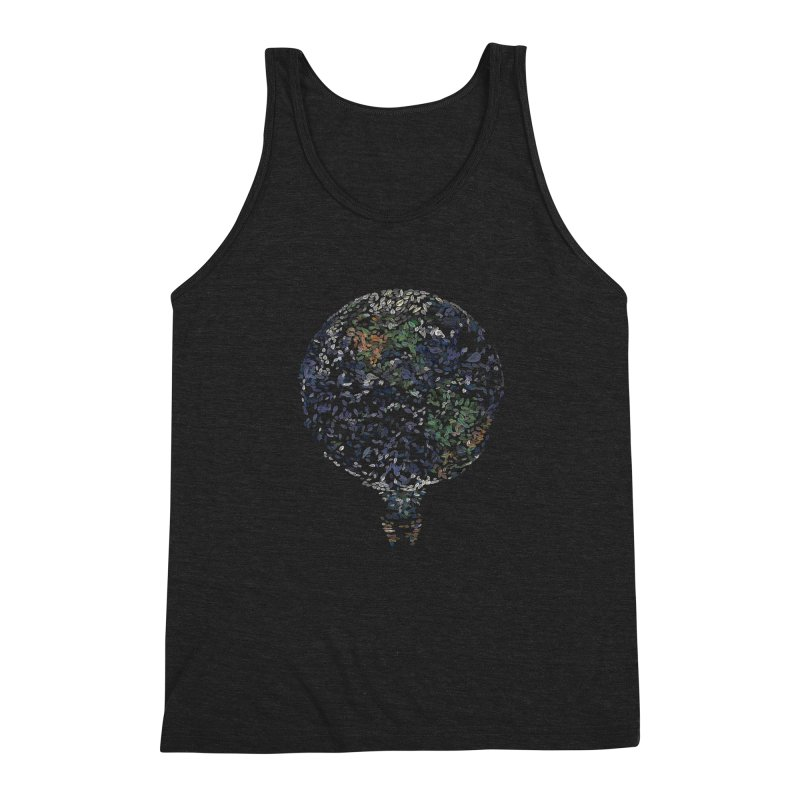 Leave This World Men's Triblend Tank by Thomas Orrow