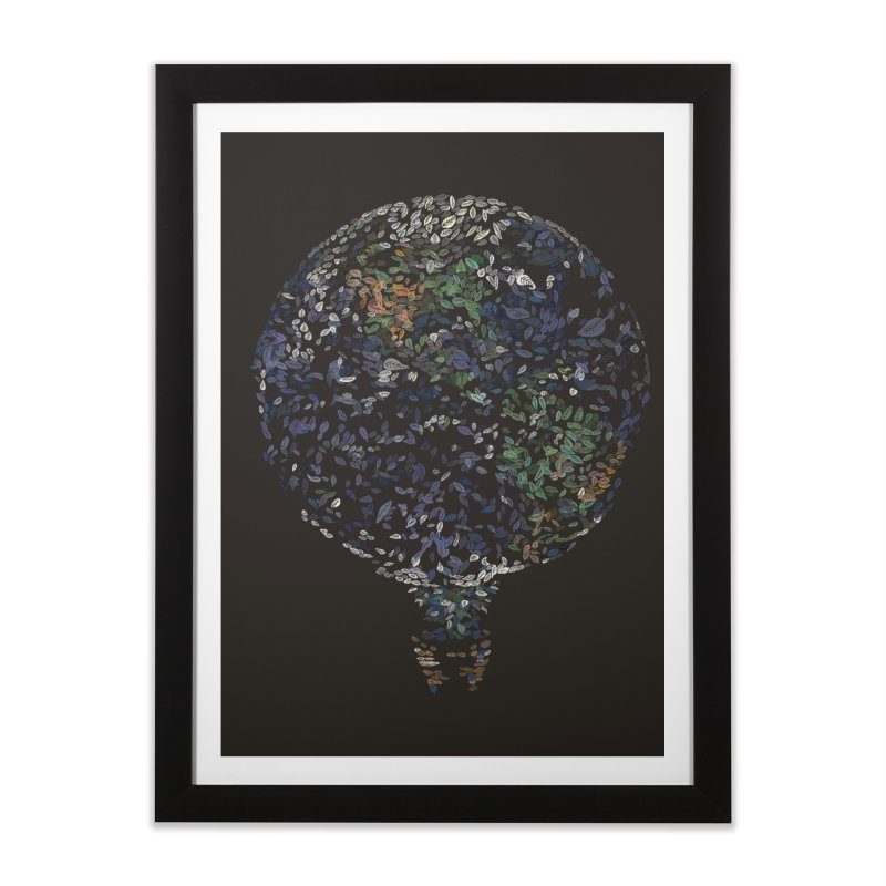 Leave This World Home Framed Fine Art Print by Thomas Orrow