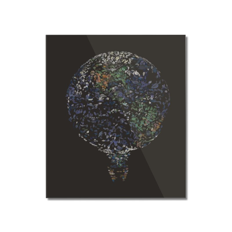 Leave This World Home Mounted Acrylic Print by Thomas Orrow