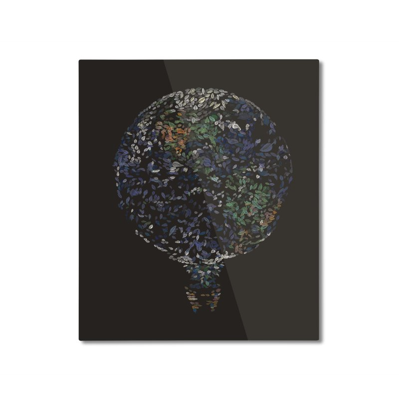 Leave This World Home Mounted Aluminum Print by Thomas Orrow