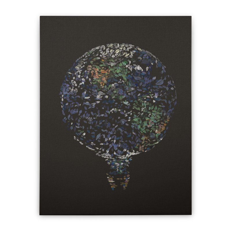 Leave This World Home Stretched Canvas by Thomas Orrow