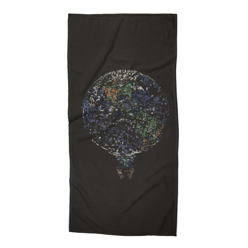 Leave This World Accessories Beach Towel by Thomas Orrow