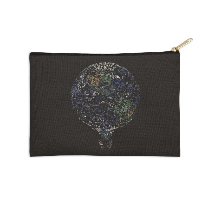 Leave This World Accessories Zip Pouch by Thomas Orrow