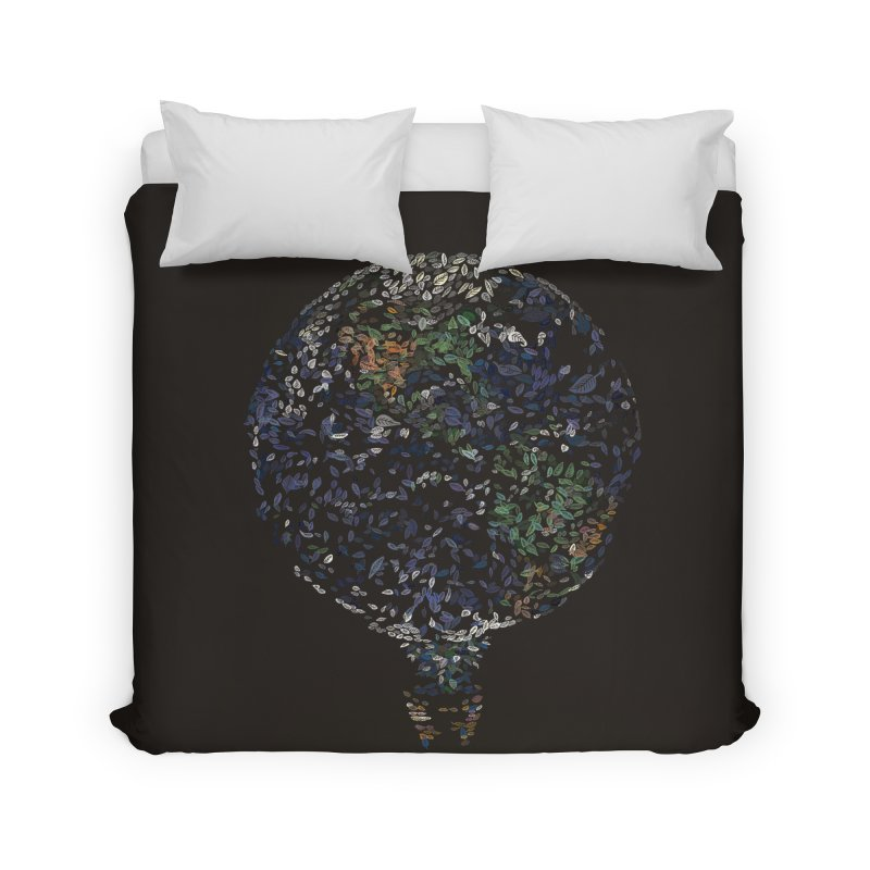 Leave This World Home Duvet by Thomas Orrow