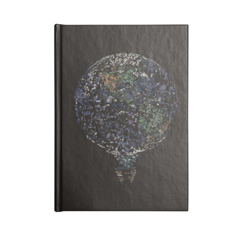 Leave This World Accessories Notebook by Thomas Orrow