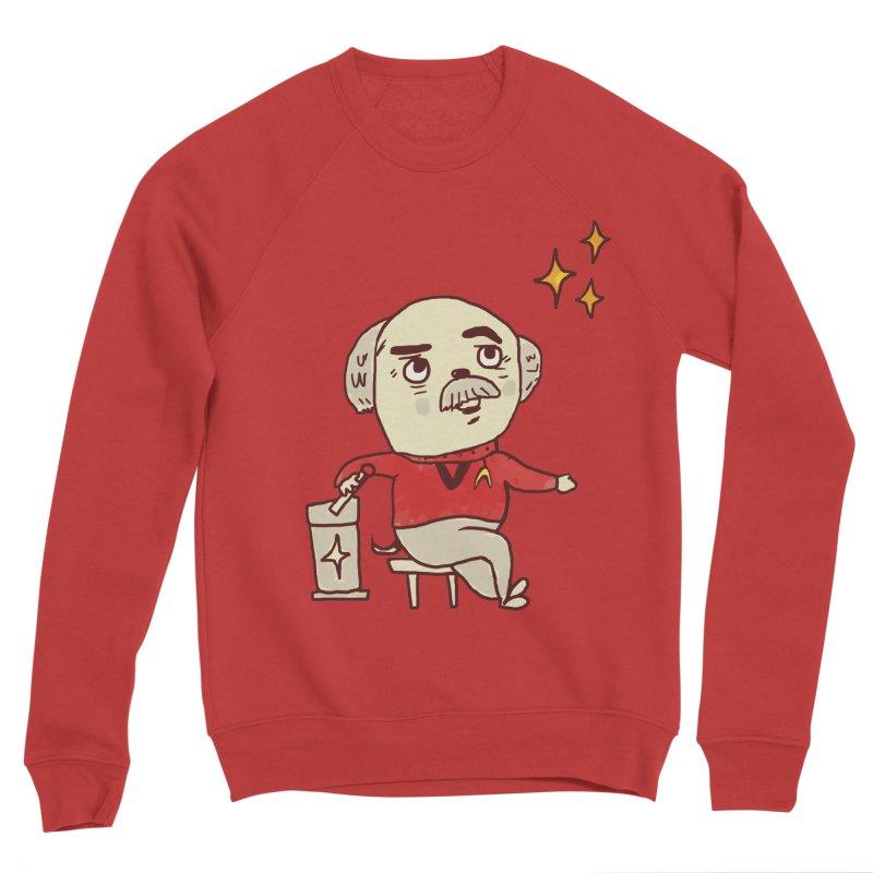 Beam Me Up, Scotty Dog Women's Sponge Fleece Sweatshirt by Thomas Orrow