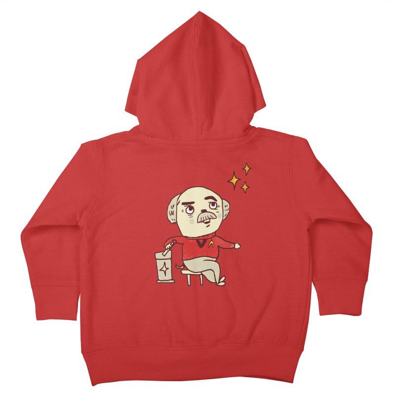 Beam Me Up, Scotty Dog Kids Toddler Zip-Up Hoody by Thomas Orrow