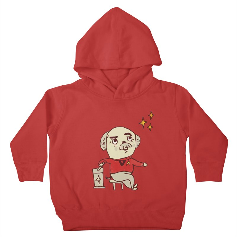 Beam Me Up, Scotty Dog Kids Toddler Pullover Hoody by Thomas Orrow