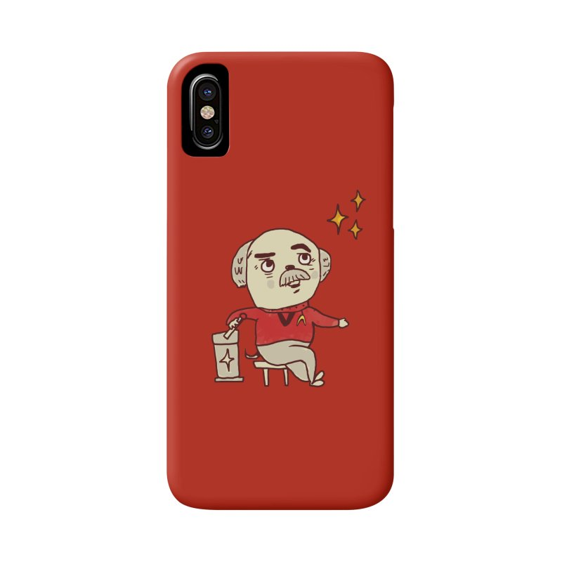 Beam Me Up, Scotty Dog Accessories Phone Case by Thomas Orrow