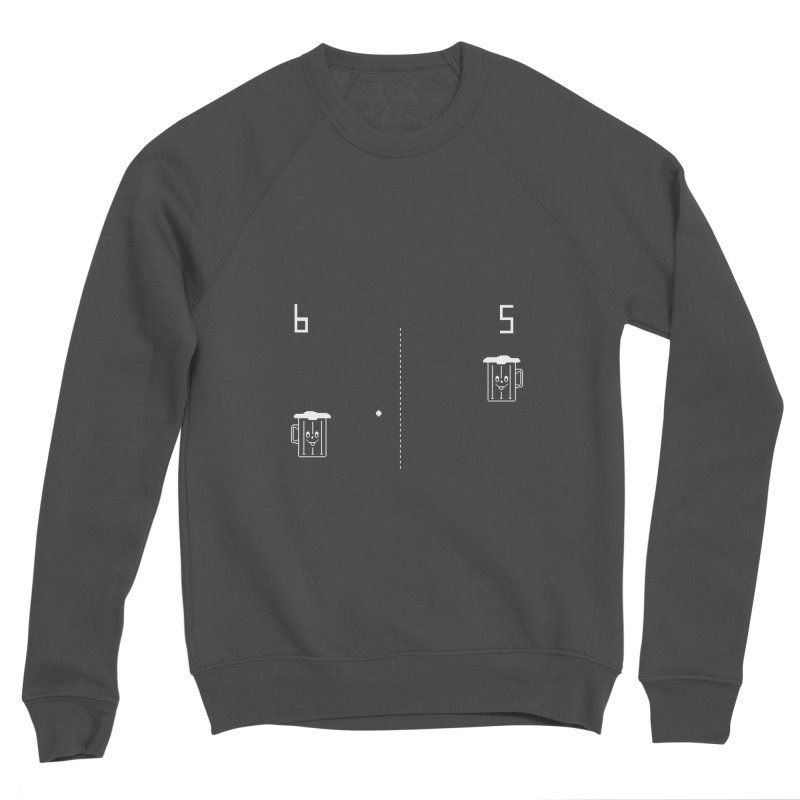 Retro Beer Pong Women's Sponge Fleece Sweatshirt by Thomas Orrow