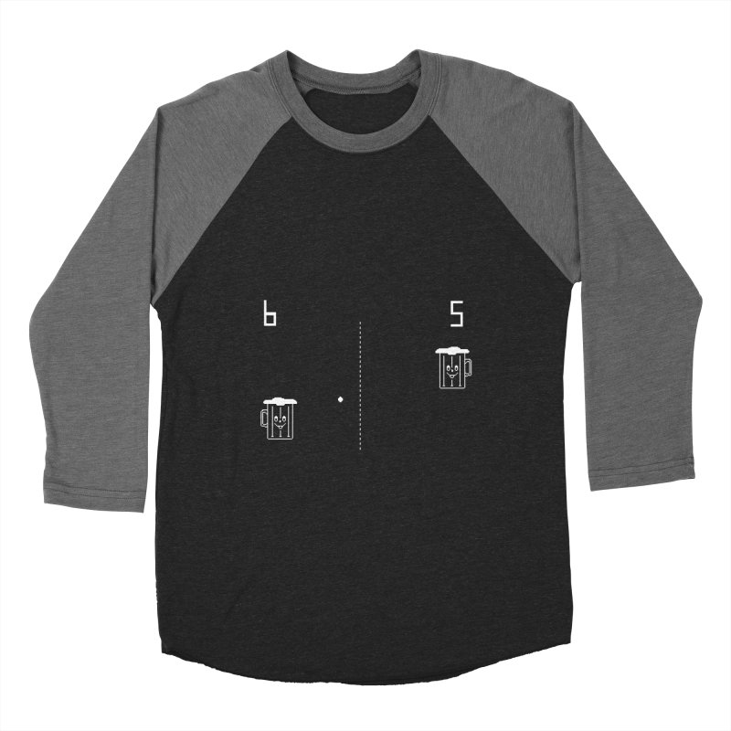 Retro Beer Pong Women's Longsleeve T-Shirt by Thomas Orrow