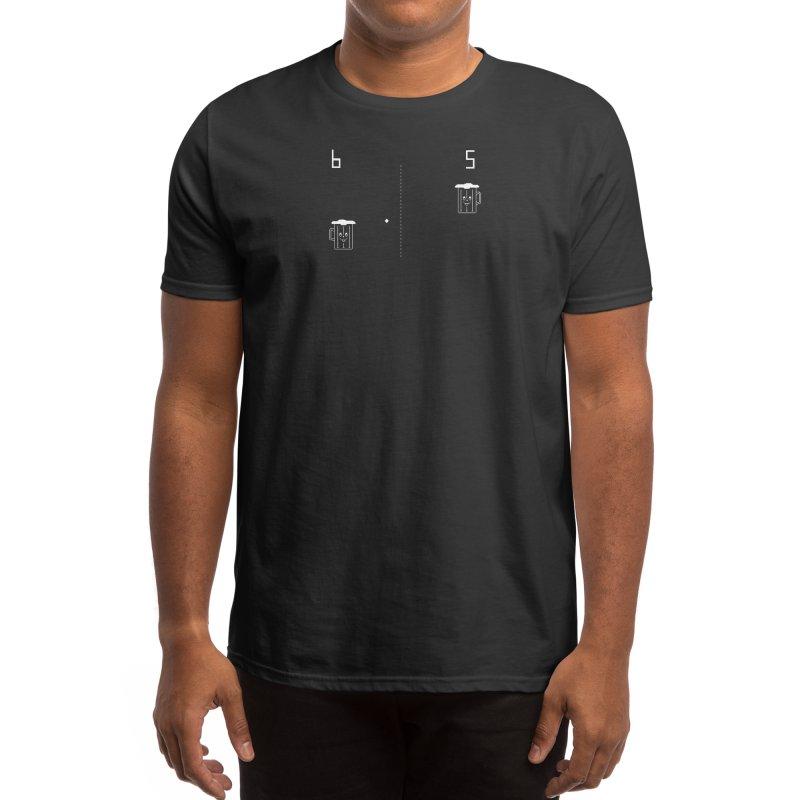 Retro Beer Pong Men's T-Shirt by Thomas Orrow