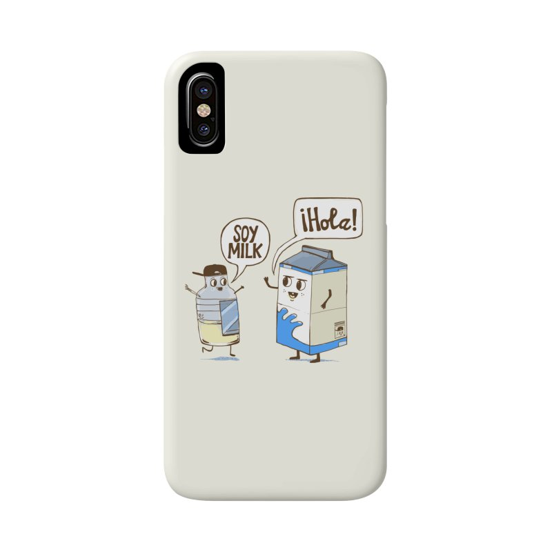 Soy Milk Accessories Phone Case by Thomas Orrow