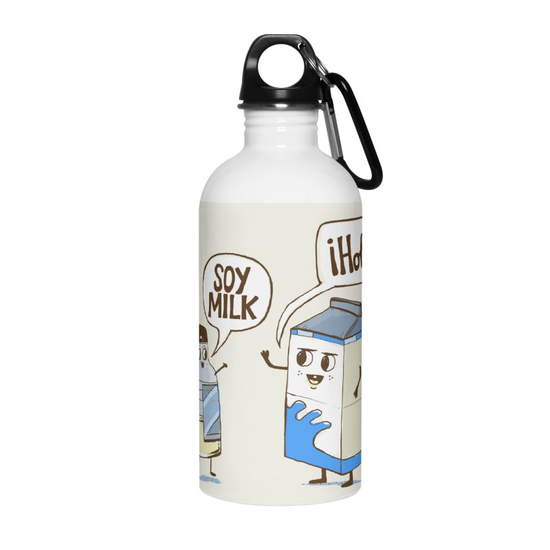Soy Milk Accessories Water Bottle by Thomas Orrow