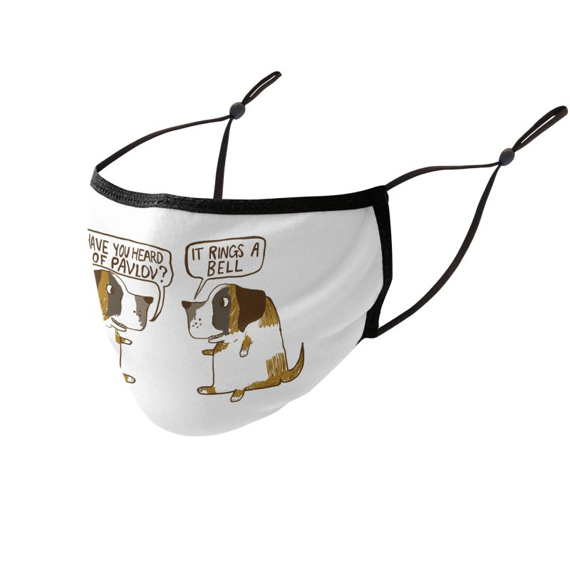 Pavlov's Dogs Accessories Face Mask by Thomas Orrow