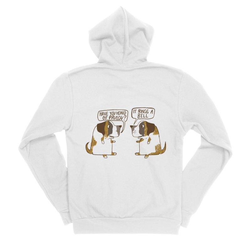 Pavlov's Dogs Men's Sponge Fleece Zip-Up Hoody by Thomas Orrow