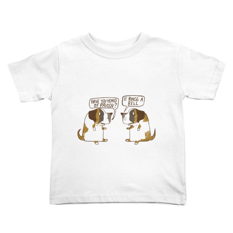 Pavlov's Dogs Kids Toddler T-Shirt by Thomas Orrow