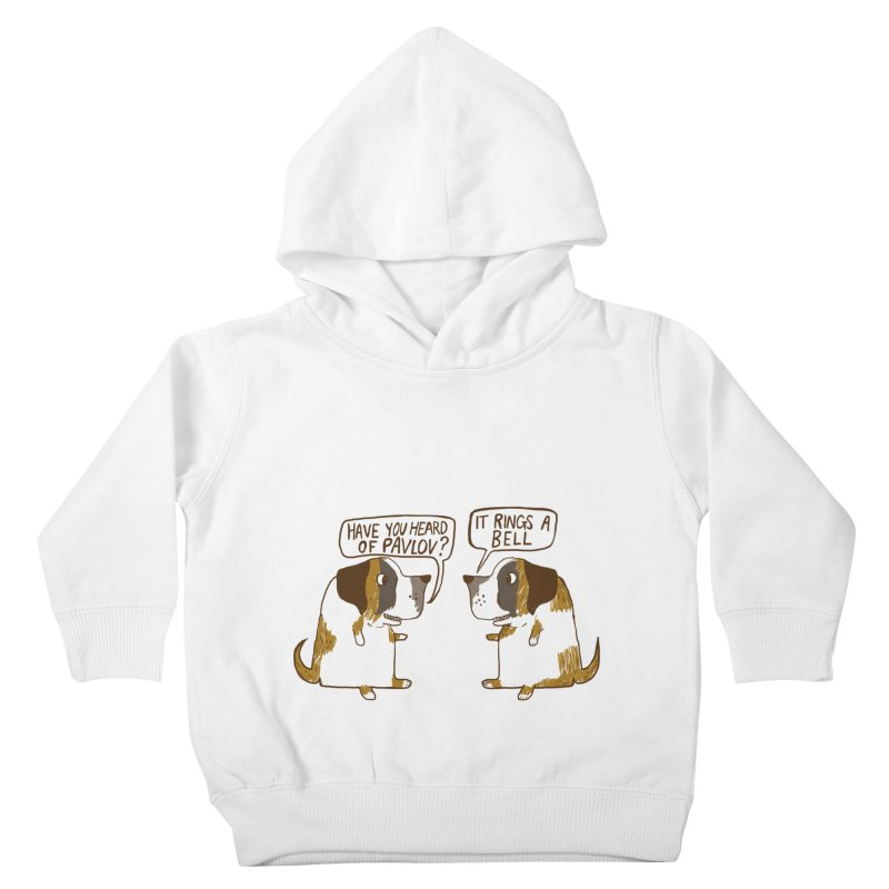 Pavlov's Dogs Kids Toddler Pullover Hoody by Thomas Orrow