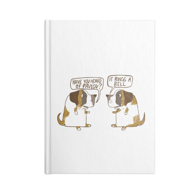 Pavlov's Dogs Accessories Notebook by Thomas Orrow
