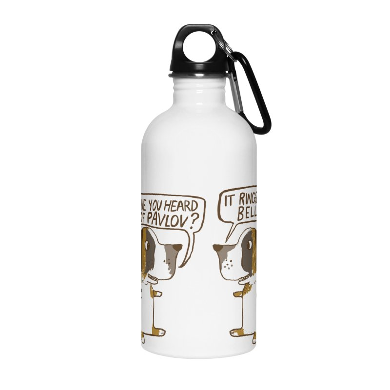 Pavlov's Dogs Accessories Water Bottle by Thomas Orrow