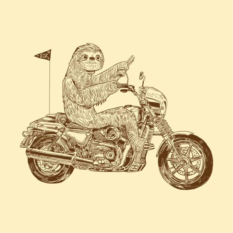 Sloth Rider by Thomas Orrow