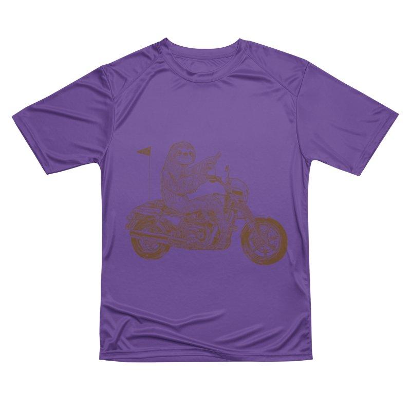 Sloth Rider Men's Performance T-Shirt by Thomas Orrow
