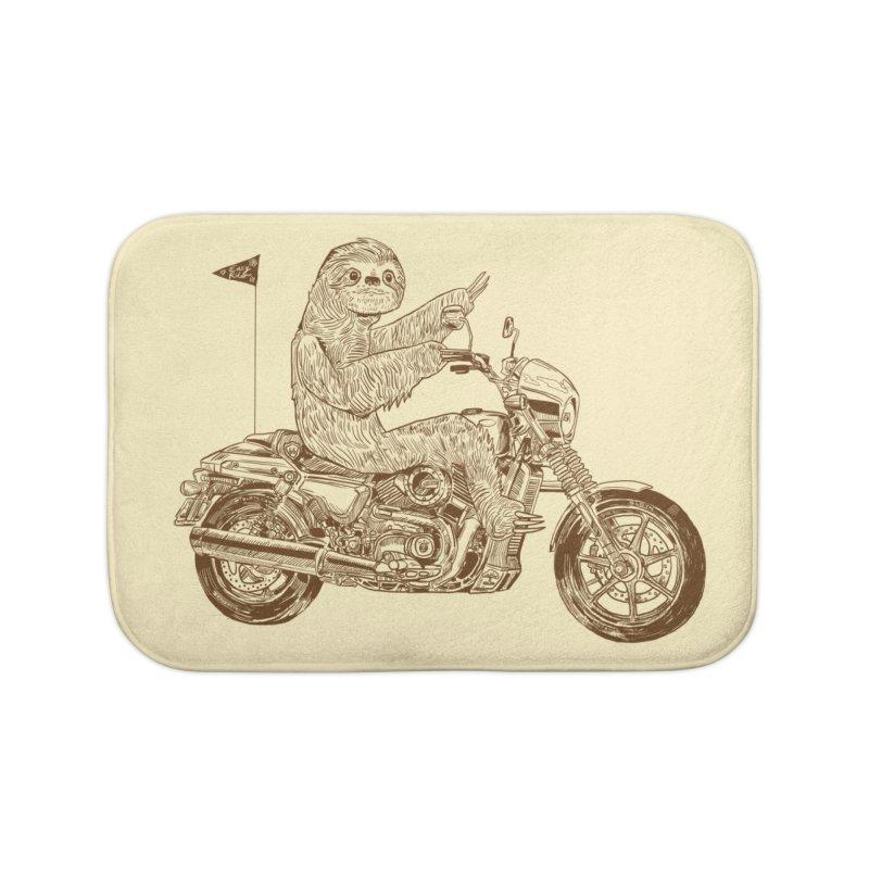 Sloth Rider Home Bath Mat by Thomas Orrow