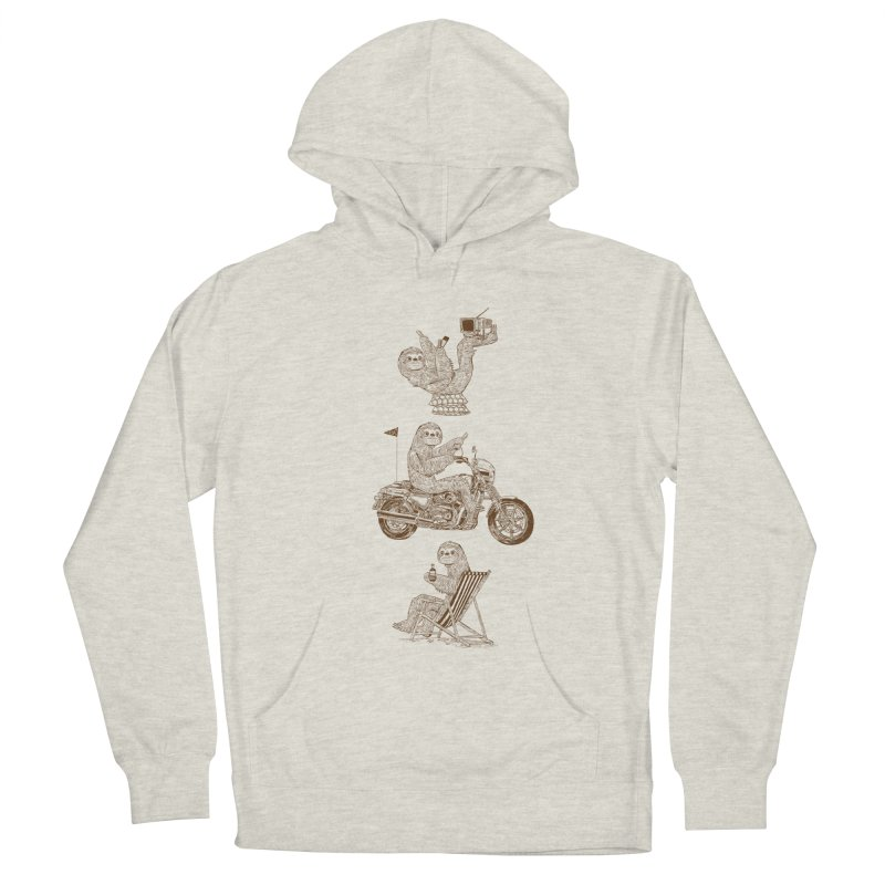 Slotholiday Men's French Terry Pullover Hoody by Thomas Orrow