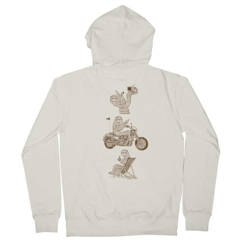 Slotholiday Men's French Terry Zip-Up Hoody by Thomas Orrow