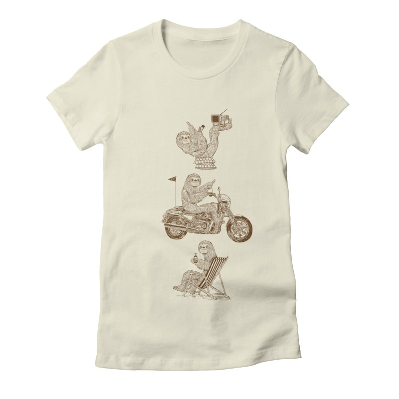 Slotholiday Women's Fitted T-Shirt by Thomas Orrow