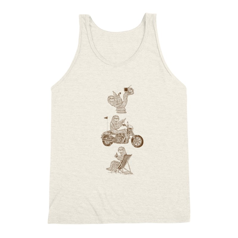 Slotholiday Men's Triblend Tank by Thomas Orrow