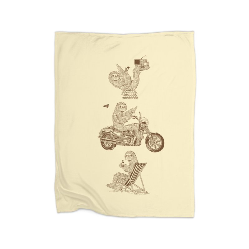 Slotholiday Home Fleece Blanket Blanket by Thomas Orrow