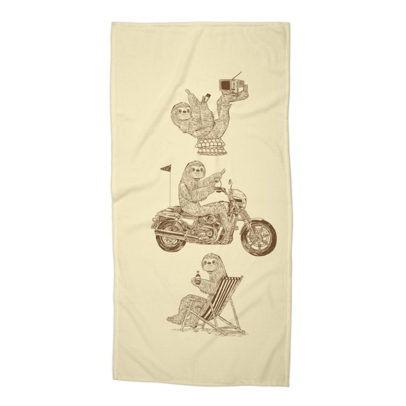 Slotholiday Accessories Beach Towel by Thomas Orrow