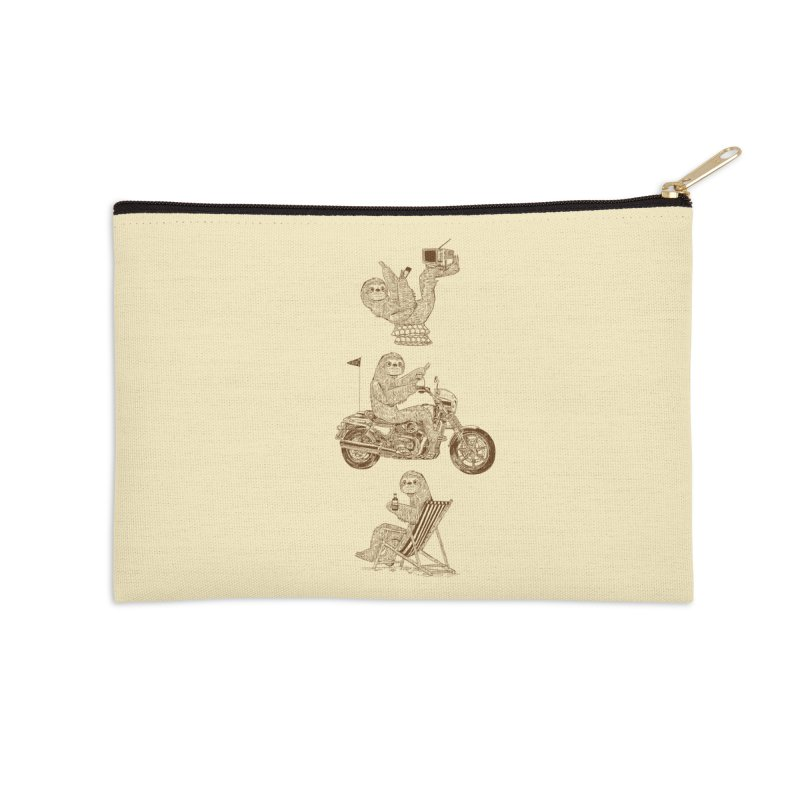 Slotholiday Accessories Zip Pouch by Thomas Orrow
