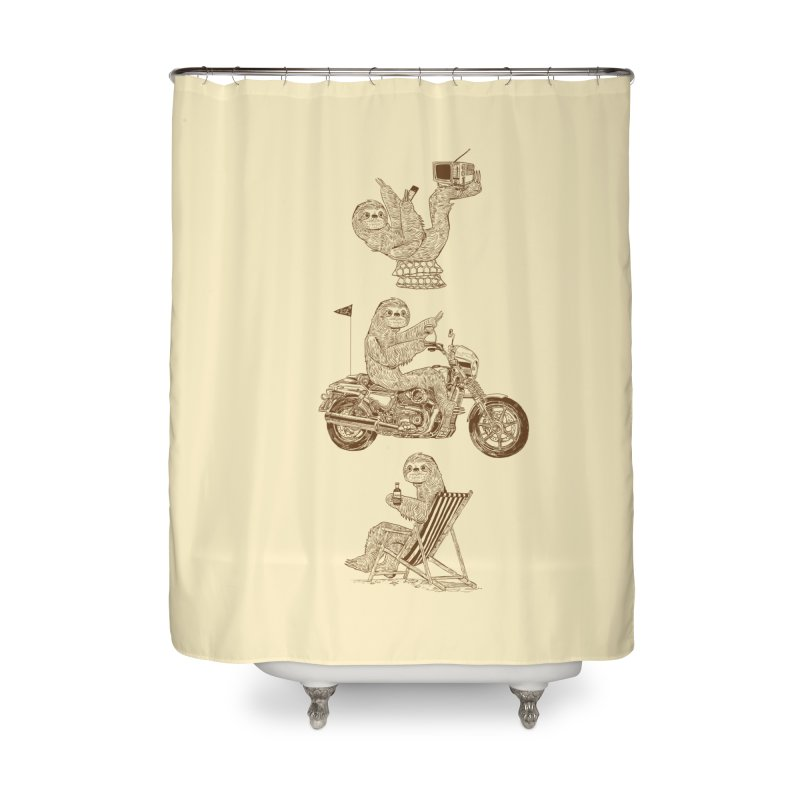 Slotholiday Home Shower Curtain by Thomas Orrow
