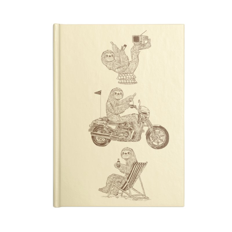 Slotholiday Accessories Lined Journal Notebook by Thomas Orrow