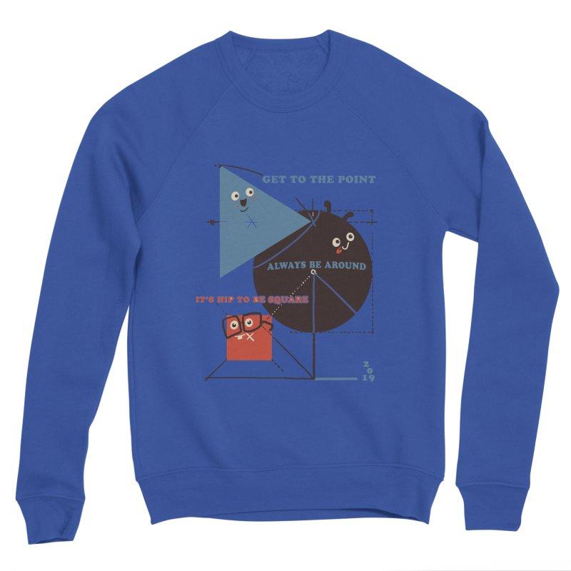 The Bauhaus School of Shapes Women's Sponge Fleece Sweatshirt by Thomas Orrow