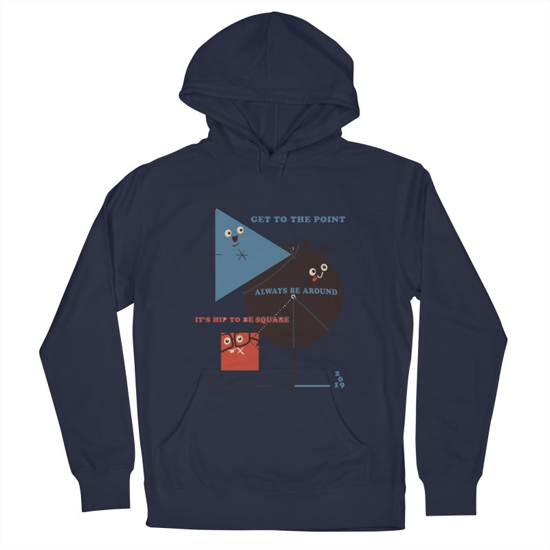 The Bauhaus School of Shapes Men's French Terry Pullover Hoody by Thomas Orrow