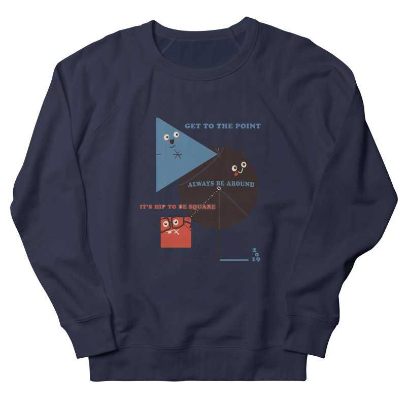 The Bauhaus School of Shapes Women's French Terry Sweatshirt by Thomas Orrow
