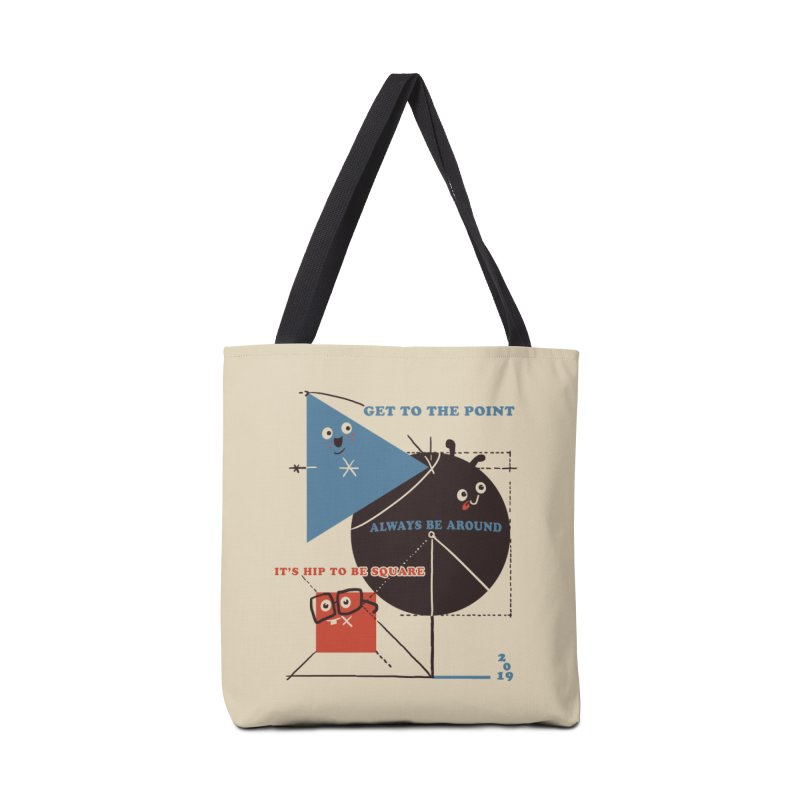 The Bauhaus School of Shapes Accessories Tote Bag Bag by Thomas Orrow