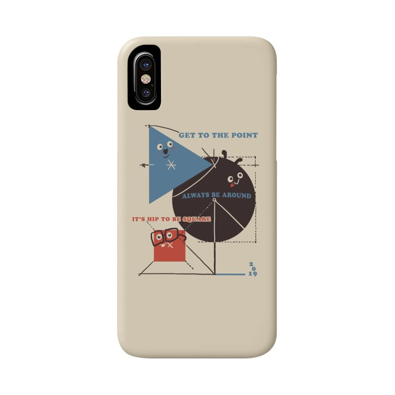 The Bauhaus School of Shapes Accessories Phone Case by Thomas Orrow