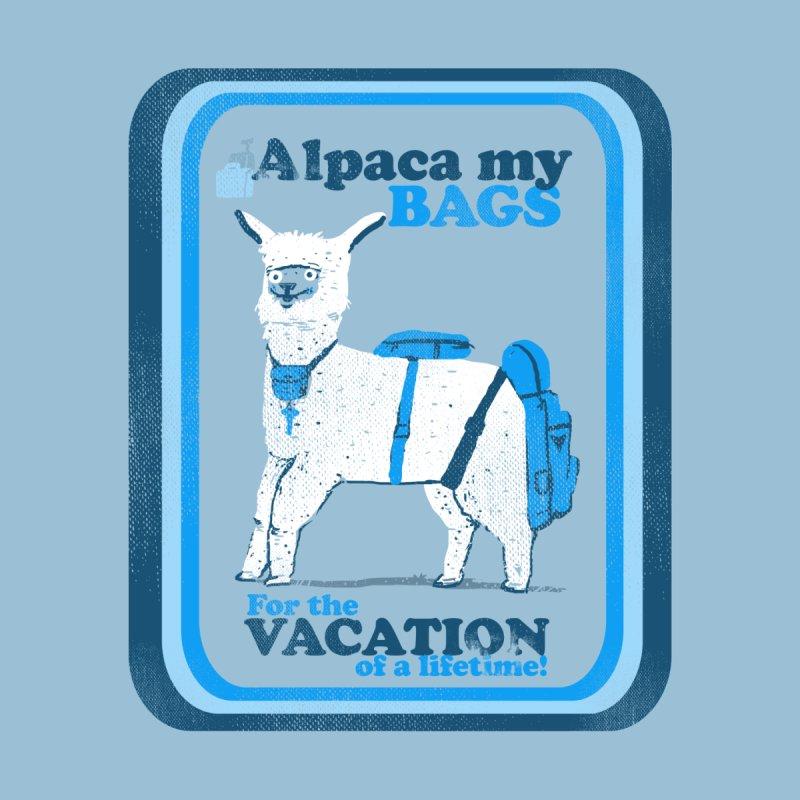 Alpaca My Bags Women's Longsleeve T-Shirt by Thomas Orrow