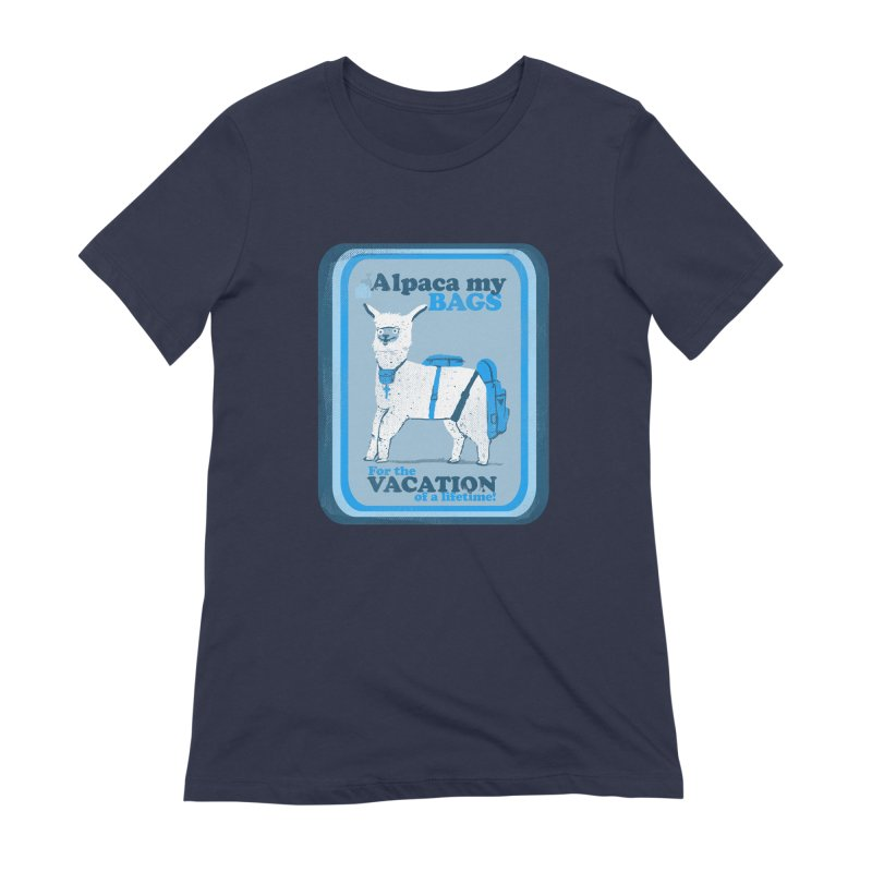 Alpaca My Bags Women's Extra Soft T-Shirt by Thomas Orrow