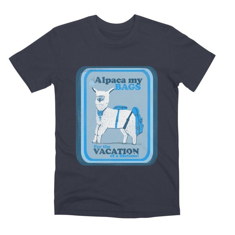 Alpaca My Bags Men's Premium T-Shirt by Thomas Orrow