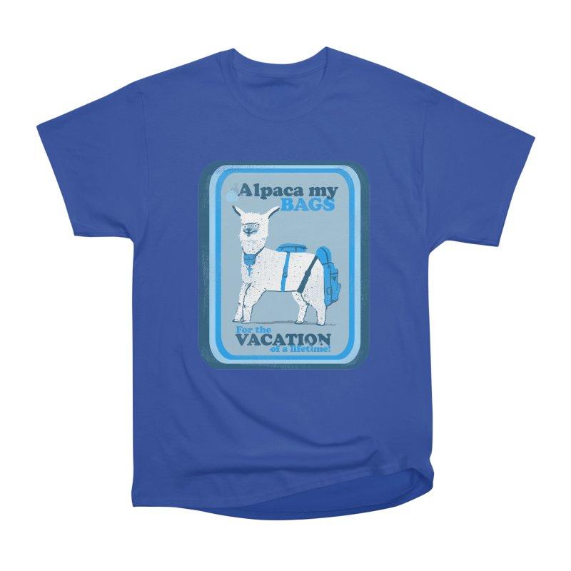 Alpaca My Bags Women's Heavyweight Unisex T-Shirt by Thomas Orrow