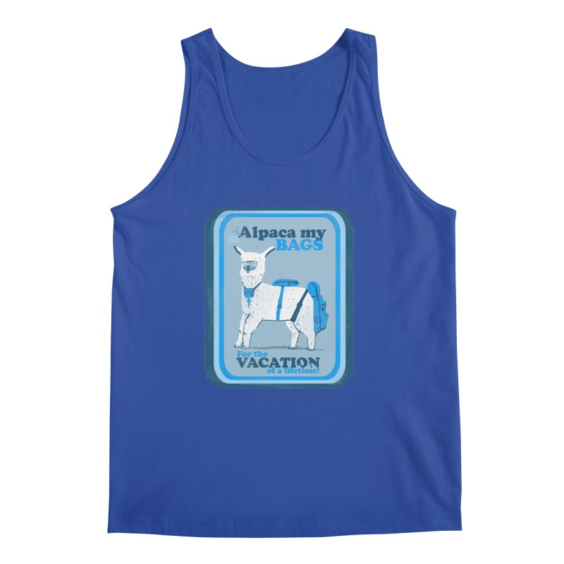 Alpaca My Bags Men's Regular Tank by Thomas Orrow
