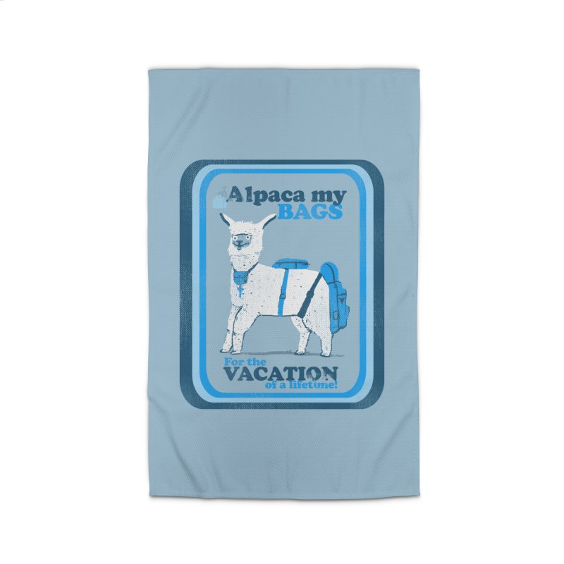 Alpaca My Bags Home Rug by Thomas Orrow