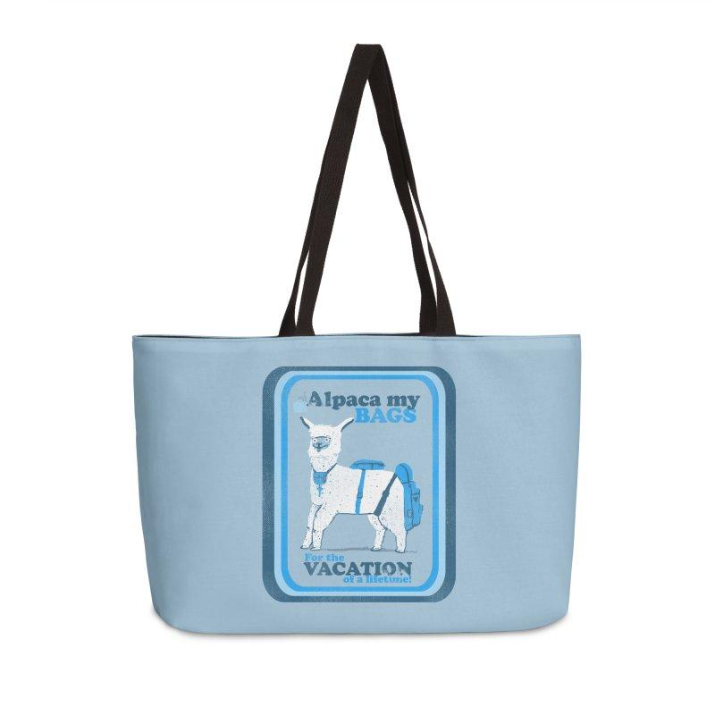 Alpaca My Bags Accessories Weekender Bag Bag by Thomas Orrow